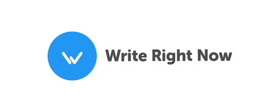 Write Right Now